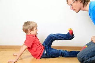 Если ребенок агрессивен